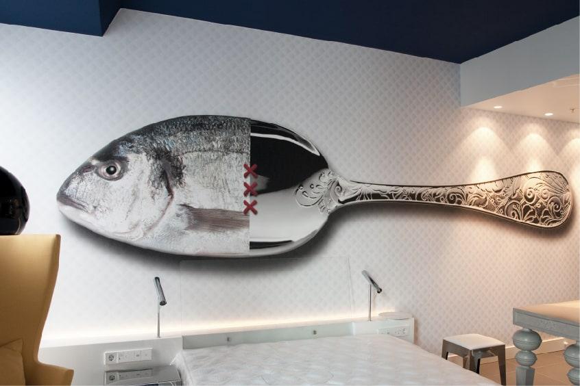 DESARDI wallcovering hotel reference