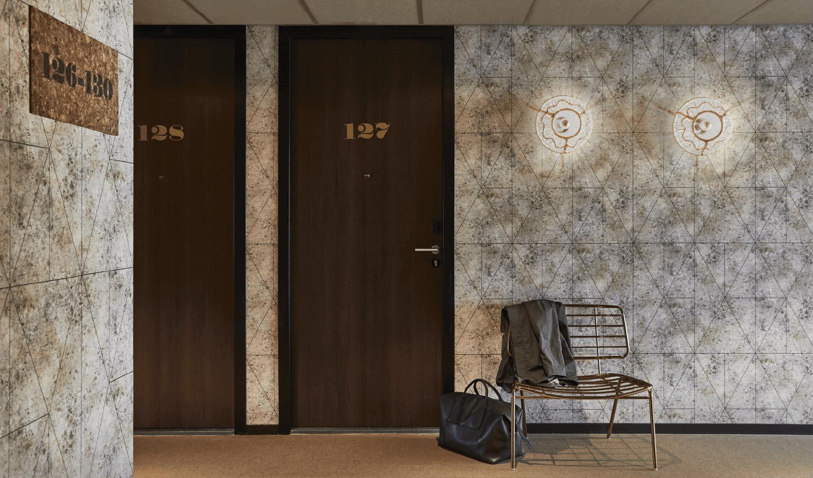 DESARDI wallcovering reference hotel