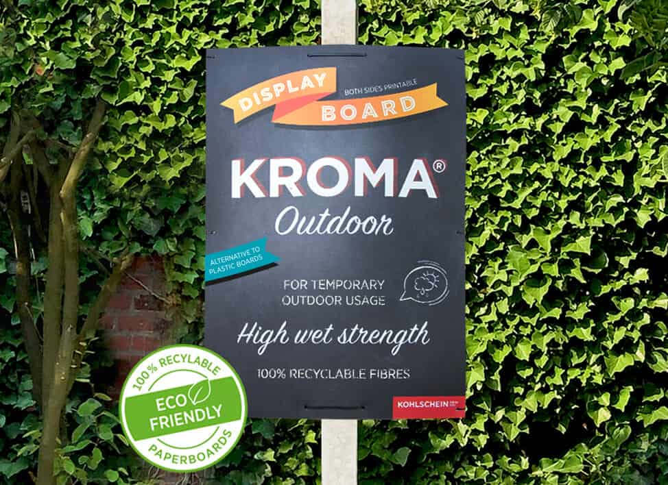 KROMA outdoor poster