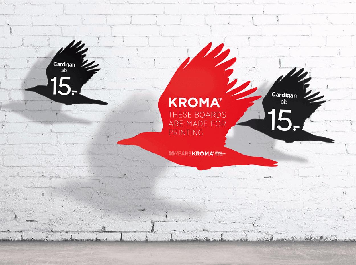 KROMA® Displayboard Hanging Signage