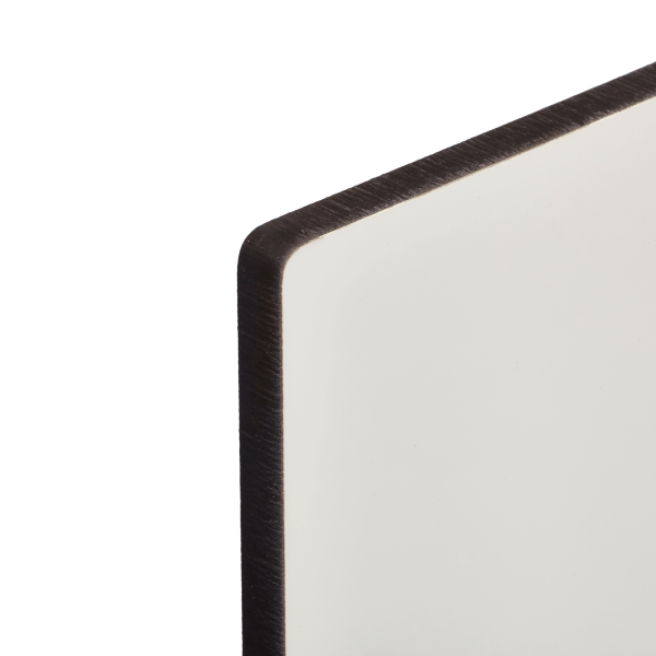 Hardboard white