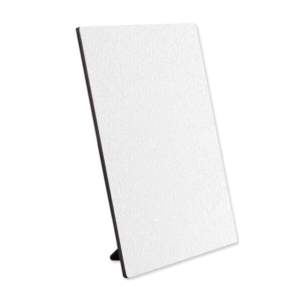 Textured hardboard white