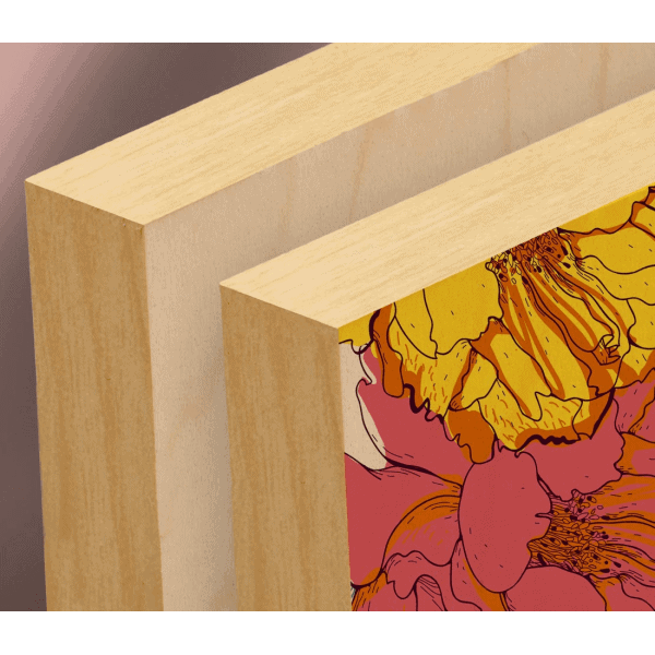 Natural wood reference
